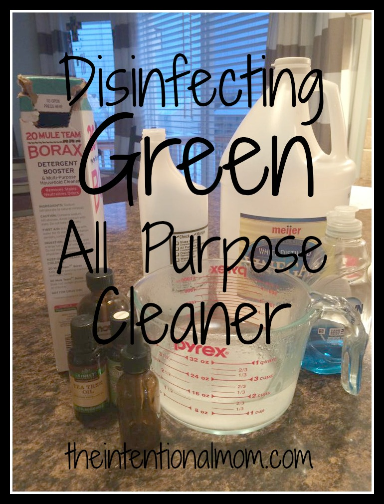 disinfecting green all purpose cleaner