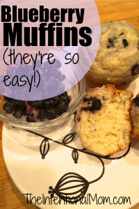 Recipe: Blueberry Muffins and Donut Muffins