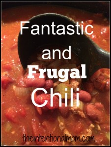 Recipe: Fantastic and Frugal Chili