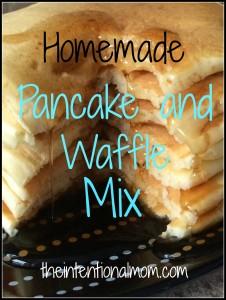 Recipe: Pancake and Waffle Mix