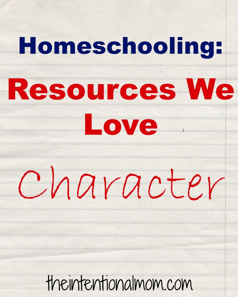 homeschooling character