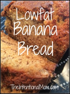 Recipe: Lowfat Banana Bread
