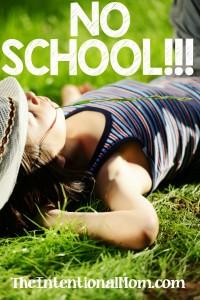 No School!!!!