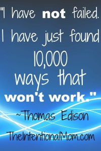 Inspirational Quote From Thomas Edison