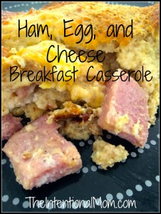 Recipe: Ham, Egg, and Cheese Casserole