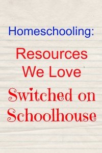 Homeschooling: Resources We Love – SOS