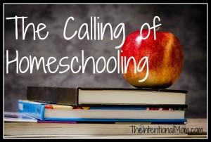 The Calling of Homeschooling