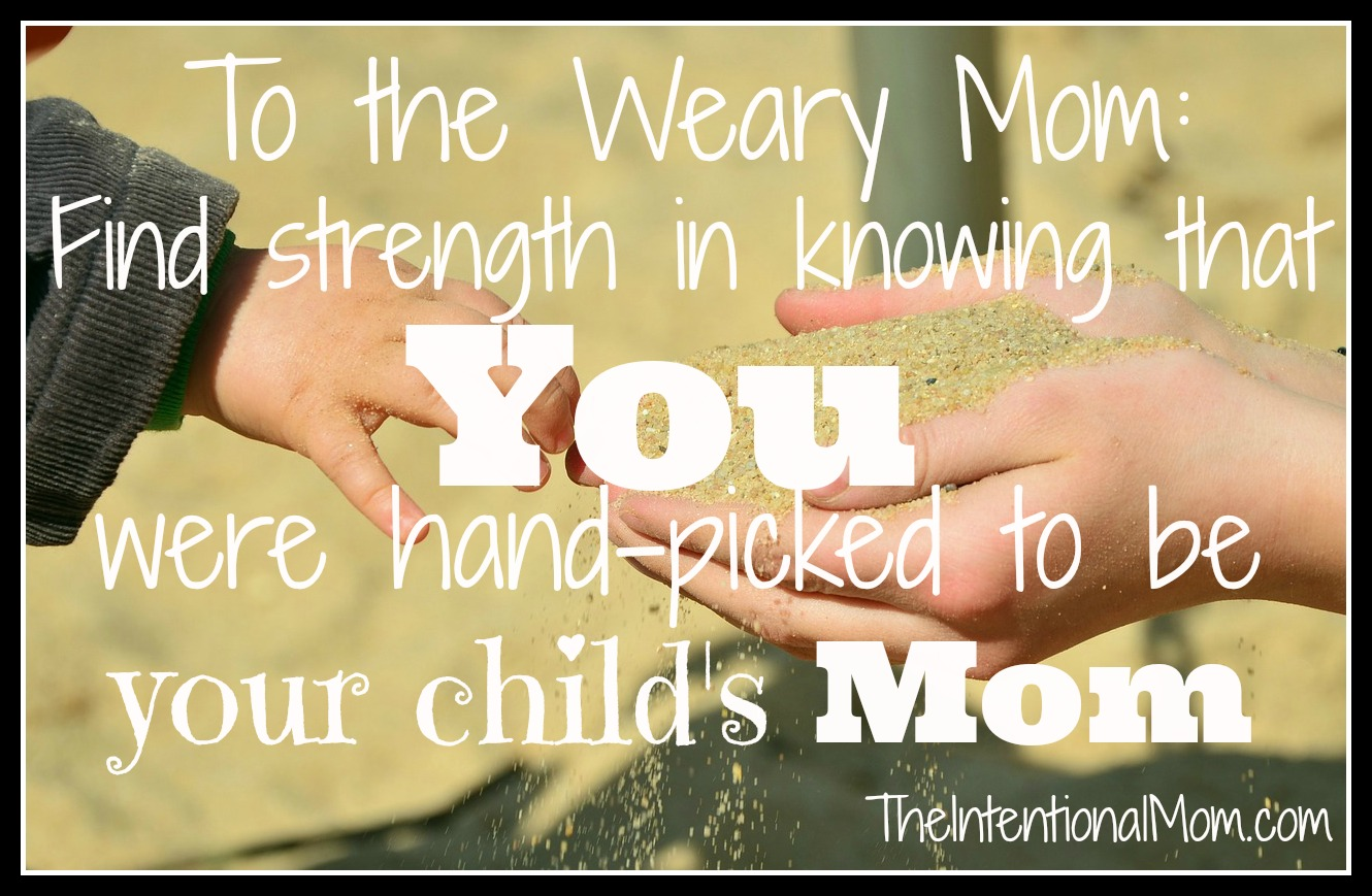 to the weary mom
