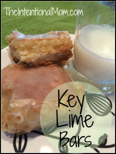 Recipe: Key Lime Bars