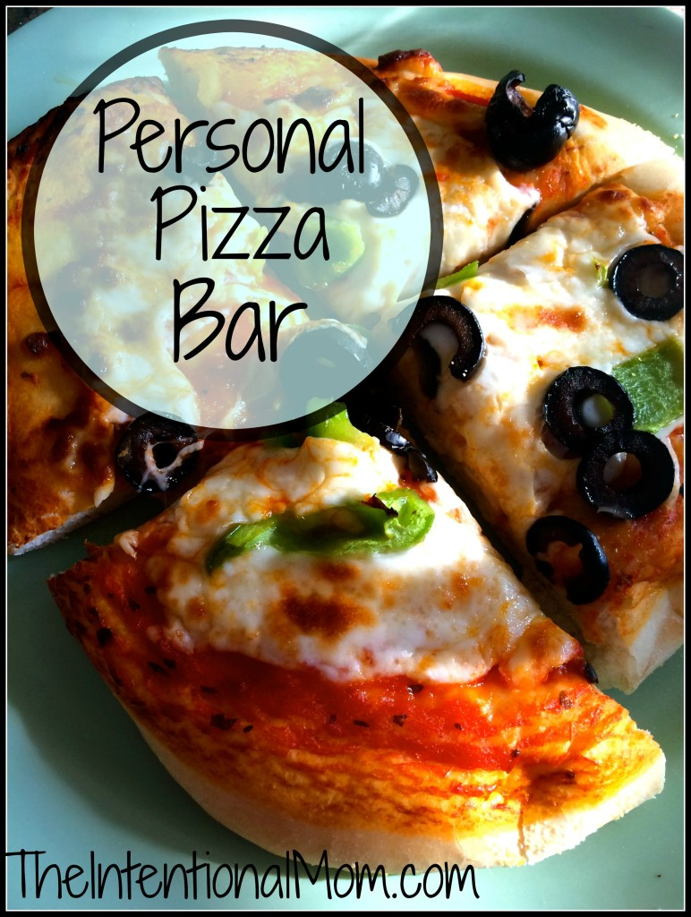 personal pizza bar