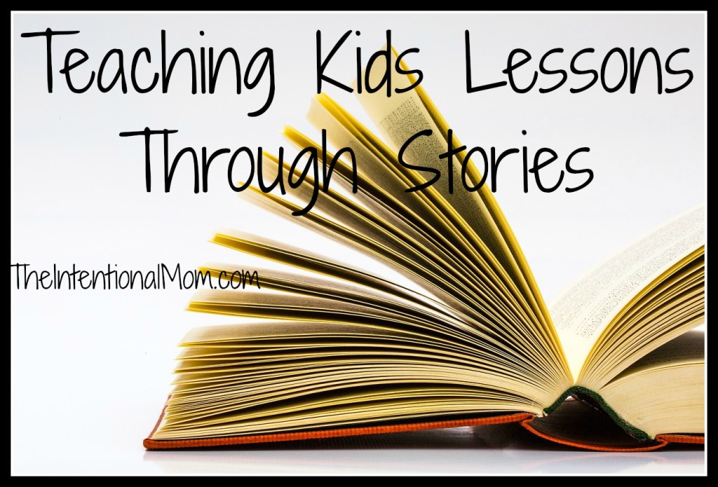 teaching kids lessons through stories