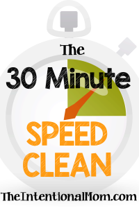 The Thirty Minute Speed Clean