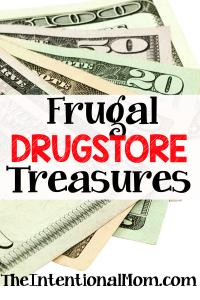 Frugal Drugstore Treasures