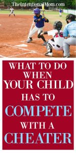 What to Do When Your Child Has to Compete With a Cheater