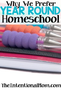 year round homeschool