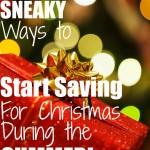 save for Christmas