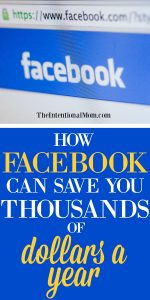 How Facebook Can Save You Thousands of Dollars a Year