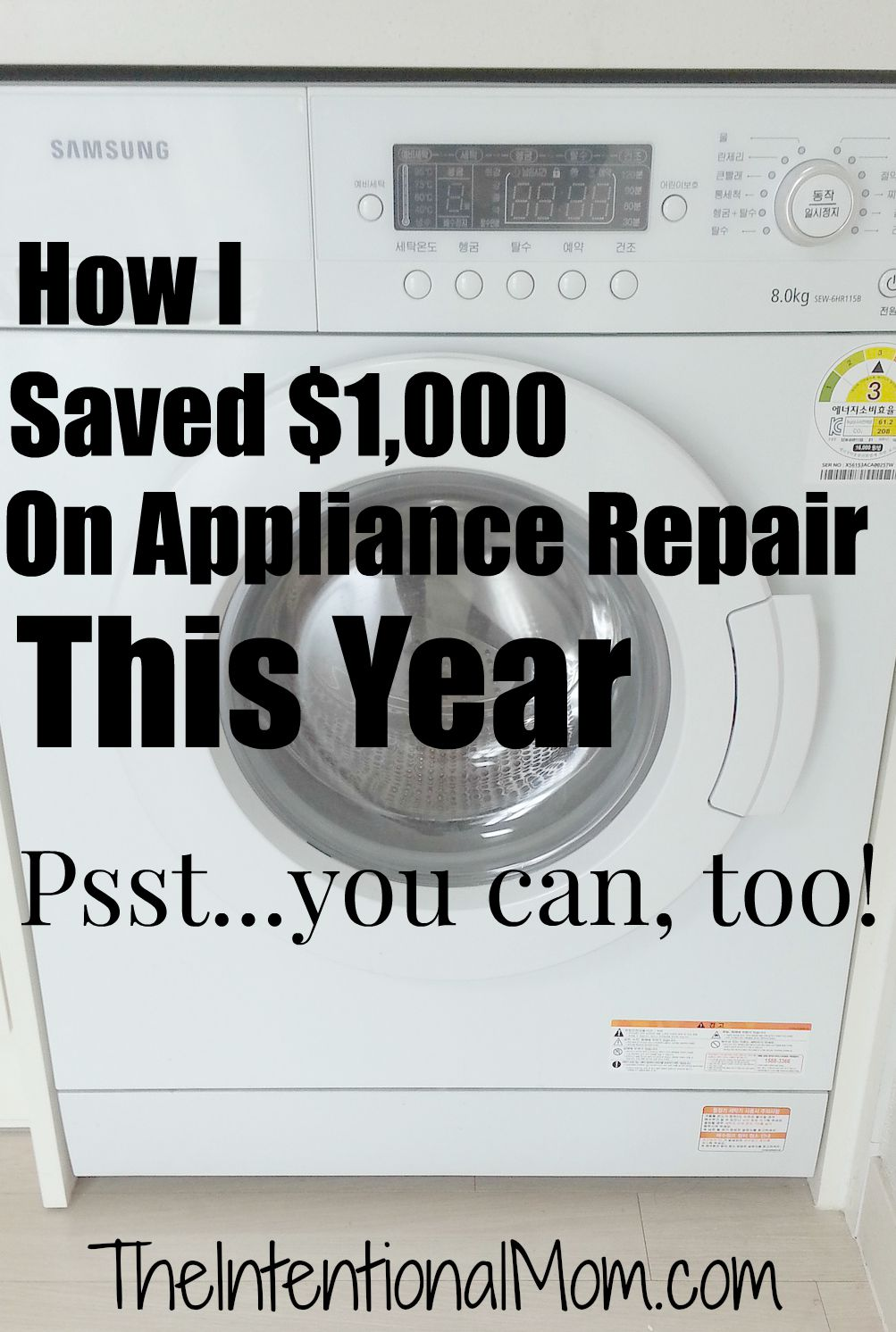 save on appliance repair