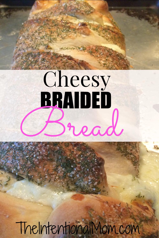 cheesy braided bread