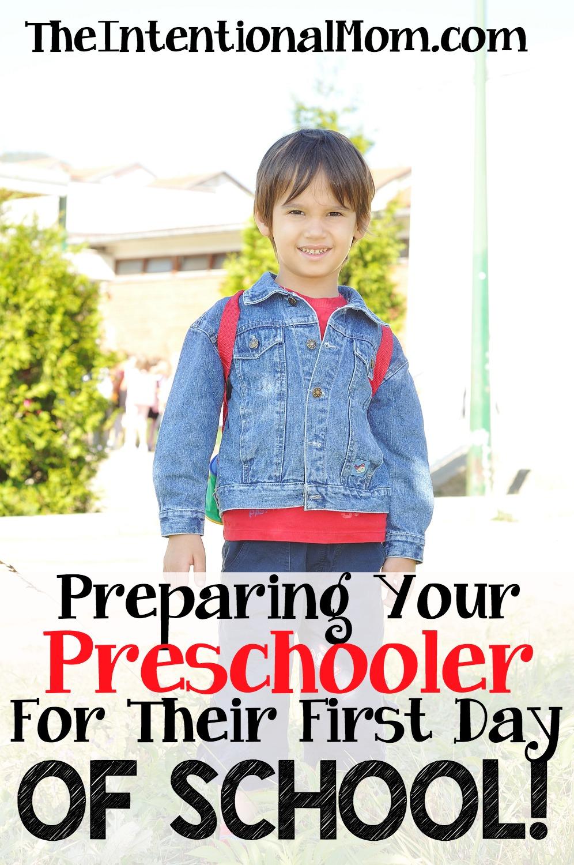 Worksheet Preparing For The First Day Of School preparing your preschooler for the first day of school preschooler