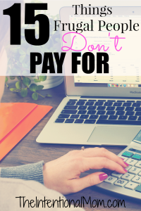 don't pay for
