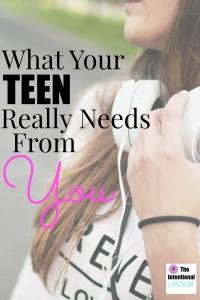 teen needs