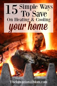 save heating cooling home