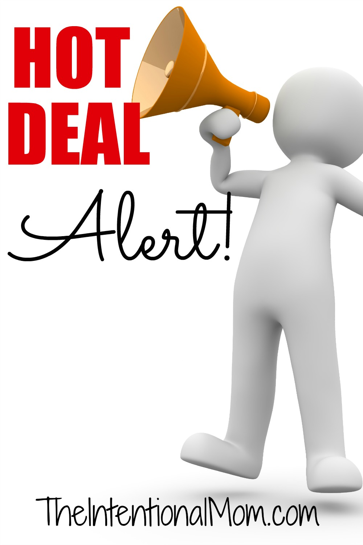 hot deal alert