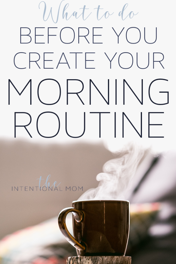morning routine busy moms