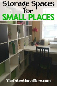 Storage Spaces for Small Places