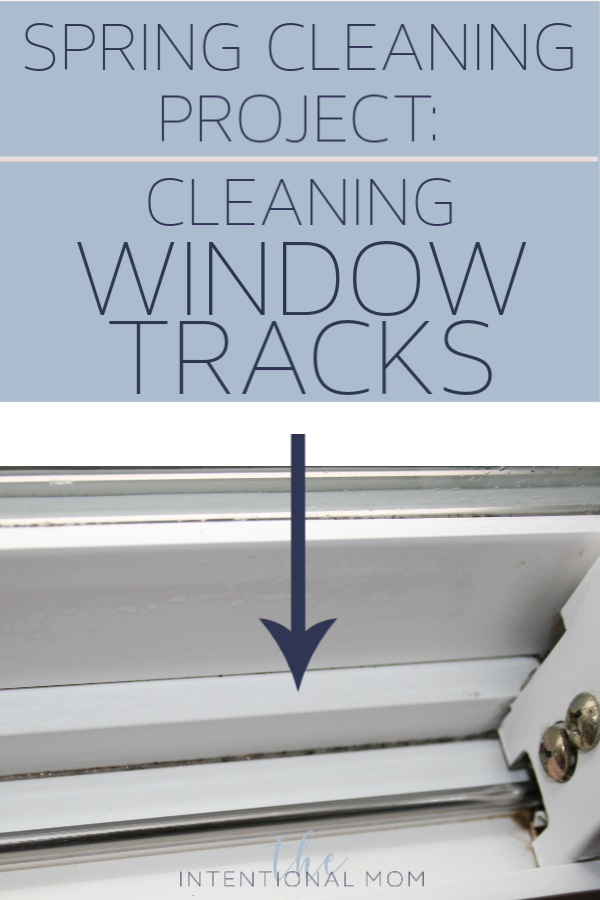 clean window tracks easy