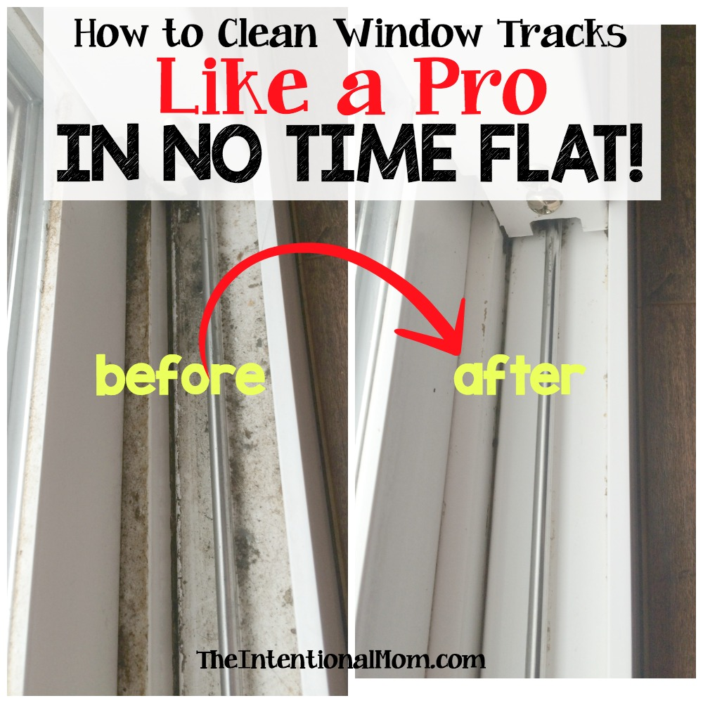 How to Clean Window Tracks Like a Pro in No Time Flat
