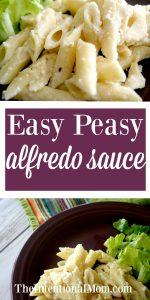 Easy Peasy Alfredo Sauce