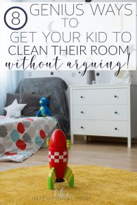 teach kids clean room