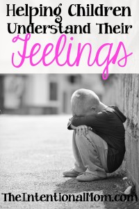Helping Children Understand Their Feelings