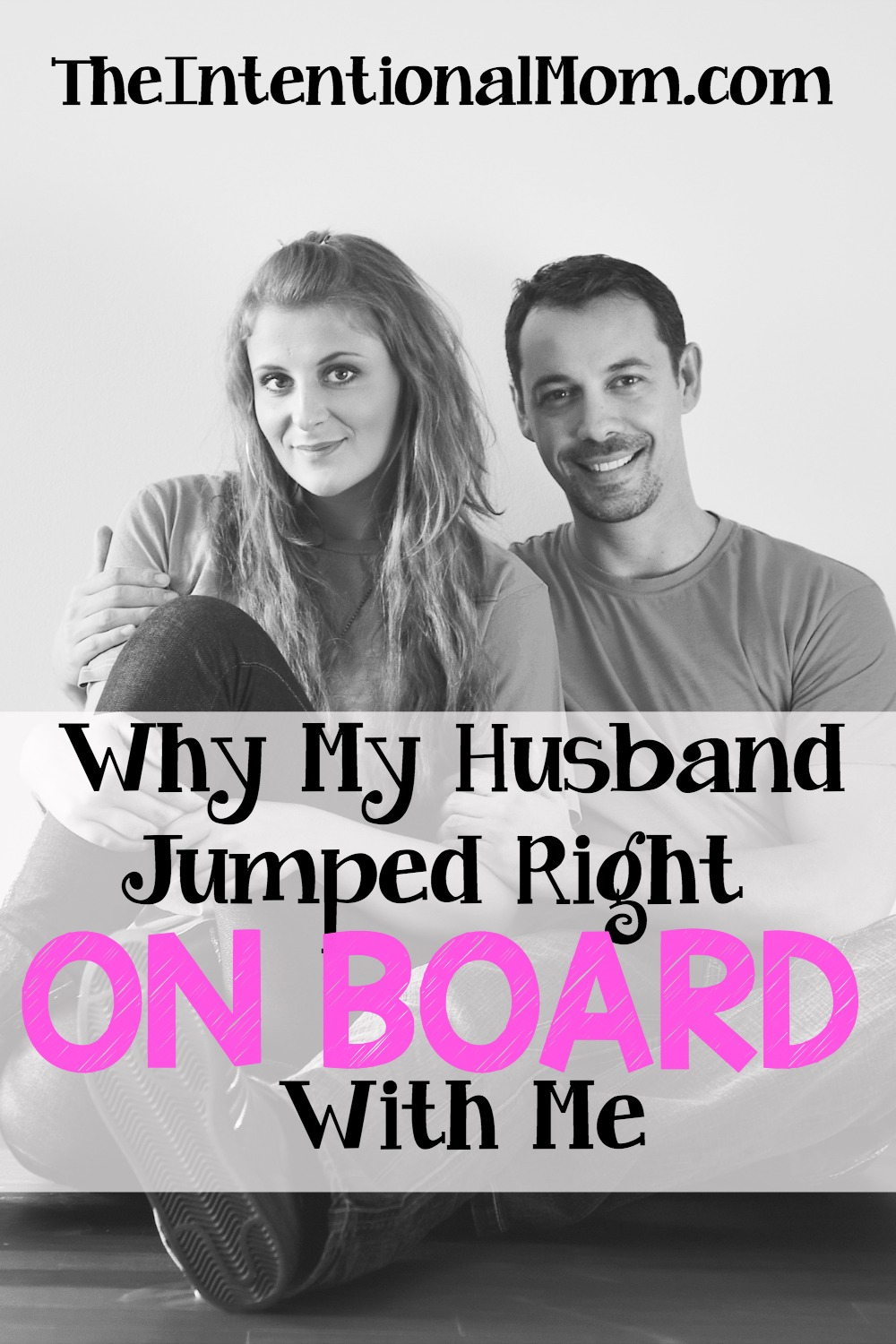 Everything that my husband and I have left in common