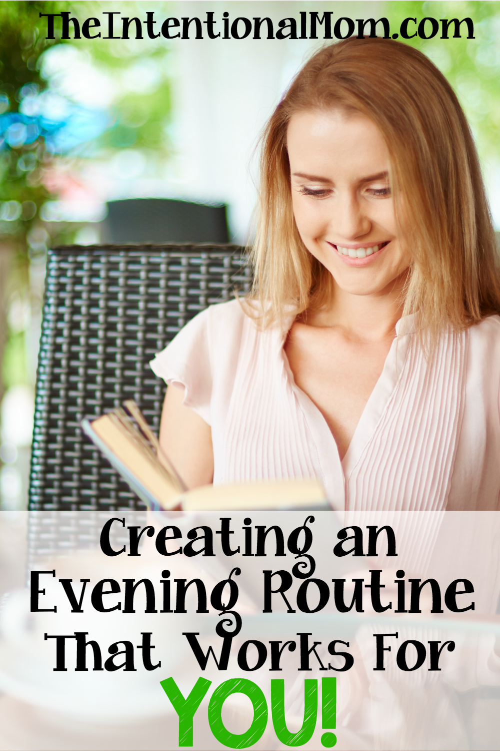 creating an evening routine that works for you