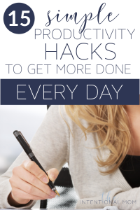 productivity hacks