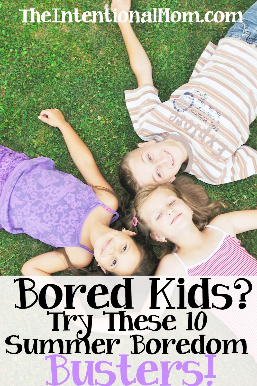 bored kids summer