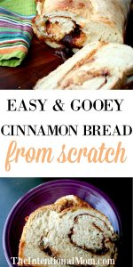 Easy and Gooey Cinnamon Bread From Scratch
