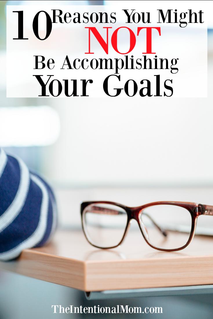 accomplishing goals