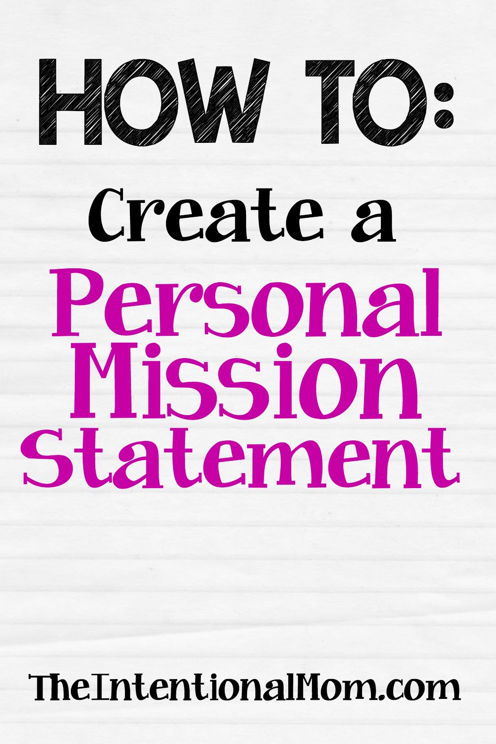 how to start of a personal statement