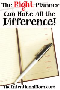 The Right Planner Can Make All the Difference!