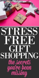 Stress Free Gift Shopping: The Secrets You've Been Missing
