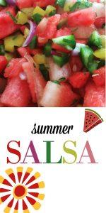 Summer Salsa With Fresh Fruit