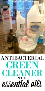 Disinfecting Green All Purpose Cleaner Using Essential Oils