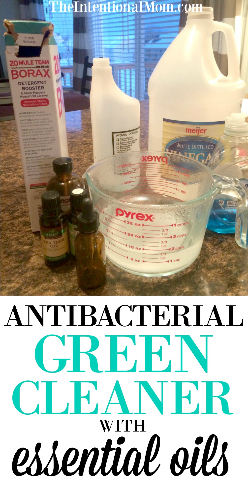 antibacterial green cleaner
