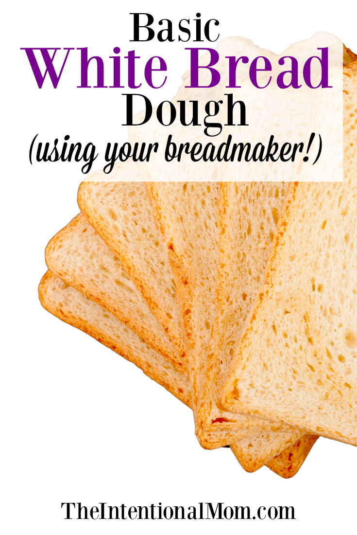 white bread dough