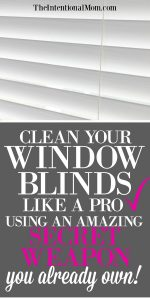 Clean Your Blinds Like a Pro & An Amazing Secret Weapon!