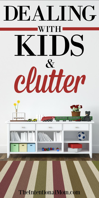 kids clutter